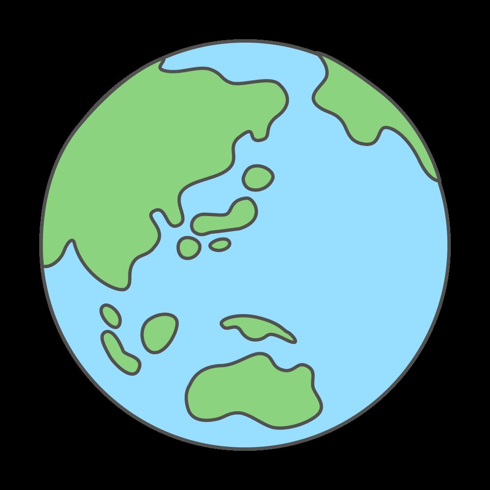 地球 ゆるイラ
